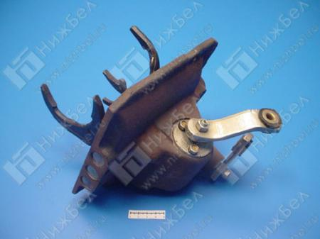 Механизм перекл.КПП УАЗ-452 (4-ступ) в сб нов обр (крышка), 3741-1702010-11
