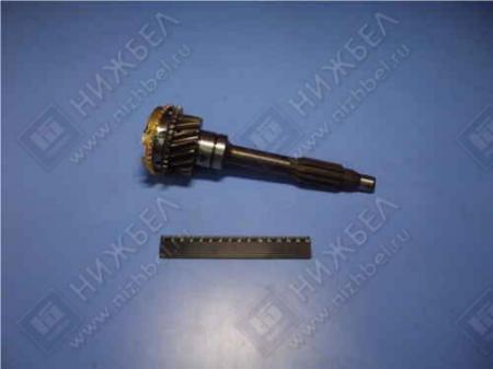 Вал первичный с синхронизатором 4ст. УАЗ-3160 (Автодеталь Сервис) (3160 1701030), 3160-1701025