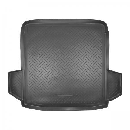 Коврик багажника (полиуретан) Volkswagen Passat B6 SD (2005-2011) {Серый}