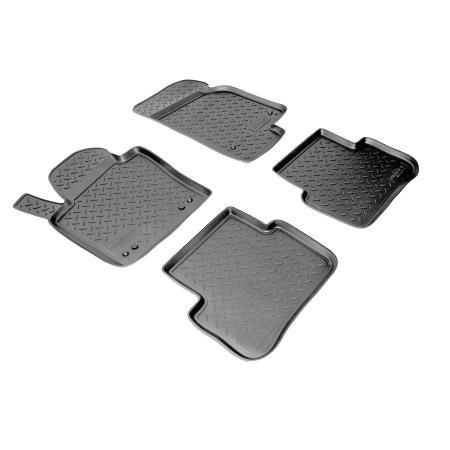 Коврики салона (полиуретан) Volkswagen Passat CC (2008-2011) {Серый}