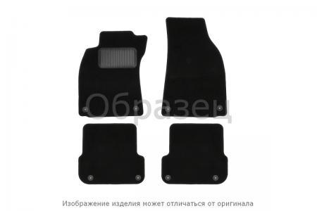 Коврики в салон VW Amarok 2010-], пик., 4 шт. (текстиль, серые)