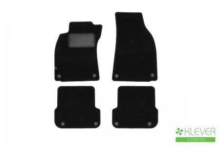 Коврики в салон VW Passat CC АКПП 2012->, сед., 4 шт. (текстиль)