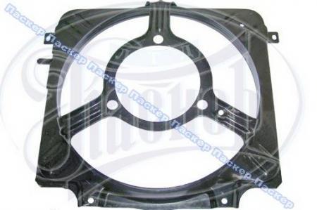 Кожух радиатора ВАЗ 2108- 21099, 2113-2115 металлический 21080-1309010-00 / 21080130901000