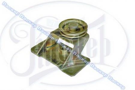 Ролик стеклоподъемника двери нижний с кронштейном в сборе 21050-6101250-00 / 21050610125000