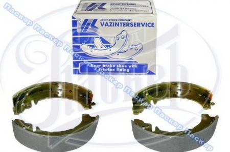 Колодки тормозные задние 2101-07, 2121-213 АвтоВАЗ (ВИС) в упаковке, 21010-3502090-01 / 21010350209001