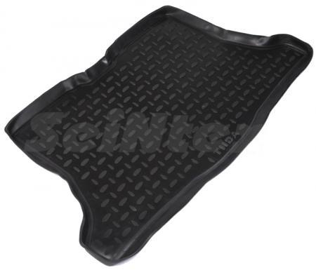 Коврик багажника полиуретановый NISSAN TIIDA hatchback (2007-)