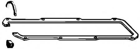 Прокладка клап. крышки VW Caddy 1.5-1.6 JB / EW 82-92 104841