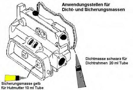 Комплект прокладок VW T2 1.9 / 2.1 82-92 оппозит 356362