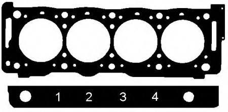 Прокладка ГБЦ Peugeot / Citroen 2, 1TD 12V {1, 72mm} 95 -> 147041