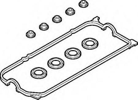 Прокладка клап. крышки Honda Civic 1.4 / 1.6 D13B7 / D14A8 / D15Z8 91-01 389220