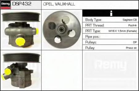 Насос г / у Opel Vectra 1.8i / 2.0i 95-00 DSP432