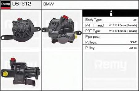 Насос г / у BMW E34 2.0i / 2.5i 88-91 DSP612