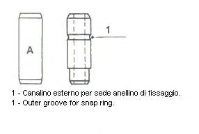 Направляющая клапана [10x14, 04x48, 5] 01-0110