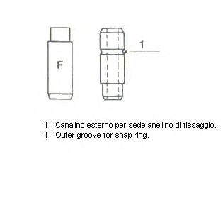 Направляющая клапана 01-2593