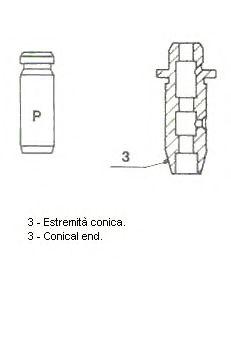 Направляющая клапана 01-S2848
