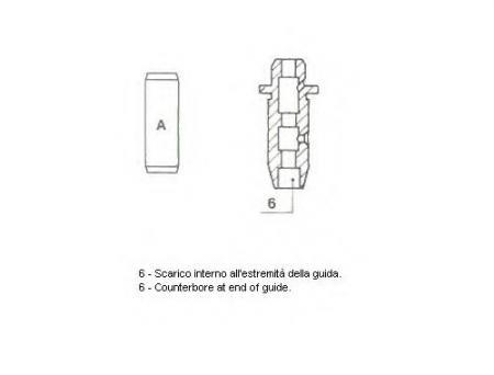 Направляющая клапана 01-2572