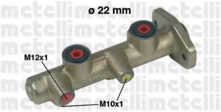 Главный тормозной цилиндр для FORD Transit 1.6/2.0 9/85-4/89 05-0173