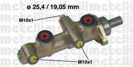 Главный тормозной цилиндр для MERCEDES W123/W126 3/79-12/85 [-ABS] 05-0174