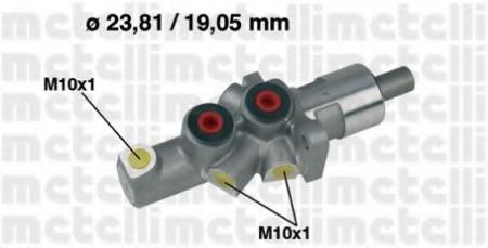 Главный тормозной цилиндр для MERCEDES W124 E200-E300 , W202 9/93-> 05-0177