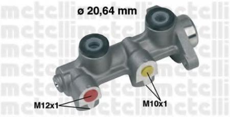 Главный тормозной цилиндр для OPEL Vectra A / Kadett E / Astra F / Corsa B / Tigra (без ABS) 05-0190