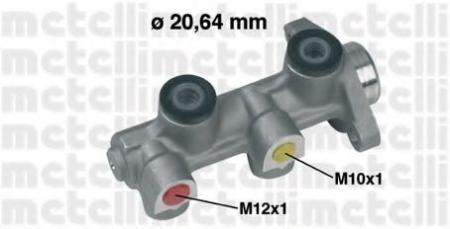 Главный тормозной цилиндр для OPEL Corsa B 1.2-1.6 / D 3 / 93-9 / 00 , Tigra 7 / 94-> 05-0224