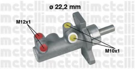 Главный тормозной цилиндр для OPEL Vectra A 2.0-16v , Astra F 1.4-2.0/1.7D , Colibra A 05-0230