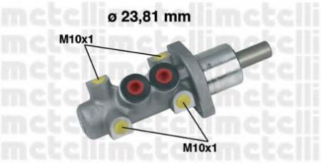 Главный тормозной цилиндр для AUDI 80 [B4] 9/91-12/94 , 100 [4A/C4] 2, 0-2, 8 90-94 05-0247