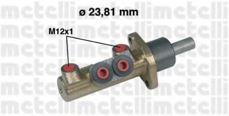 Главный тормозной цилиндр для VW T4 2, 0 / 2, 5 / 2, 5 Syncro / 1, 9D / 2, 4D / 2, 5TDI Syncro [ATE +ABS] 1 / 96-> , Sharan 2, 0 / 2, 8VR6 / 1, 9TDI 9 / 95-> 05-0311