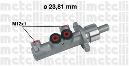 Главный тормозной цилиндр [23, 81mm] для CITROEN Berlingo, PEUGEOT 406/Partner с ABS 95 -> 05-0355