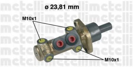 Главный тормозной цилиндр 05-0398