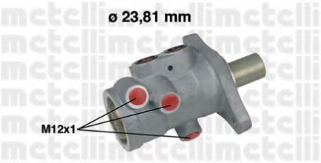 Главный тормозной цилиндр (23, 81mm) для RENAULT Laguna II 1, 6/1, 8/1, 9D 01 -> 05-0556