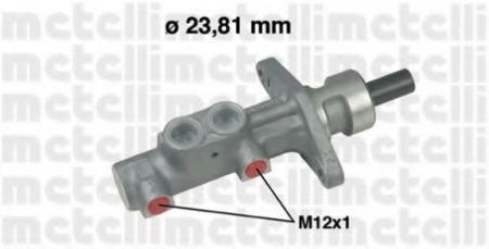 Главный тормозной цилиндр (23, 81mm) для VOLVO C70/S70/V70 2, 0/2, 3/2, 5 99 -> 05-0577