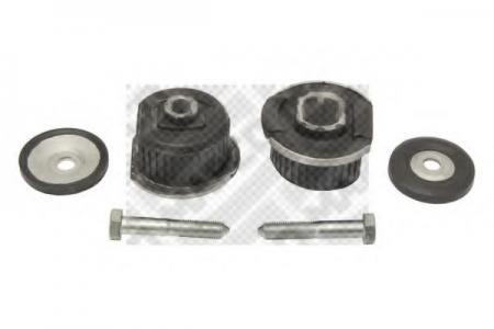 Сайлентблок задней балки передний(комплект 2 шт.+крепеж) MERCEDES W124 / W201 / W202 (MAPCO) 33910