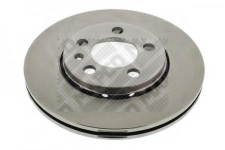 Диск тормозной AUDI A2 1.4 00-;A3 1.6 96-; VW Bora 1.6 14 98;Gol (MAPCO) 15830