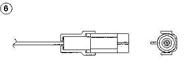 Лямбда-зонд (кислородный датчик) 1882