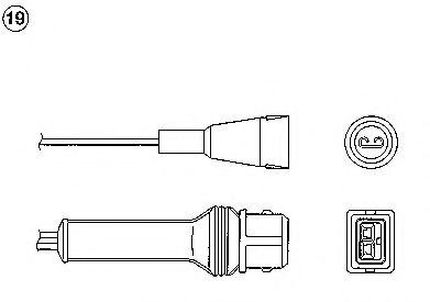 Лямбда-зонд (кислородный датчик) 1859
