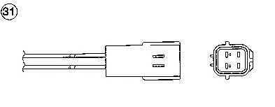 Лямбда-зонд (кислородный датчик) 0017