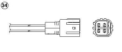 Лямбда-зонд (кислородный датчик) 0473