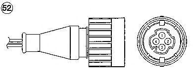 Лямбда-зонд (кислородный датчик) для BMW E34 M50B20 DME-Siemens 06.92->08.95 1932
