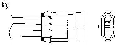Лямбда-зонд (кислородный датчик) для OPEL Omega B 2.0 двигатели X20XEV 3 / 94-9 / 99 0420