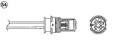 Лямбда-зонд (кислородный датчик) для BMW E36 / E38 / E39 2.0i-2.8i DME-Siemens 09.90->11.01 0486