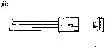 Лямбда-зонд (кислородный датчик) 1768