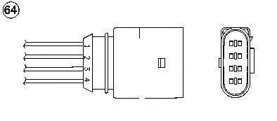 Лямбда-зонд (кислородный датчик) 0435
