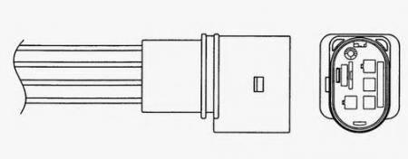 Лямбда-зонд (кислородный датчик) 1829