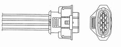Лямбда-зонд (кислородный датчик) 0485