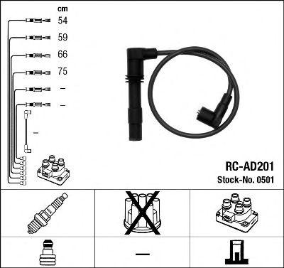 Высоковольтные провода 0501
