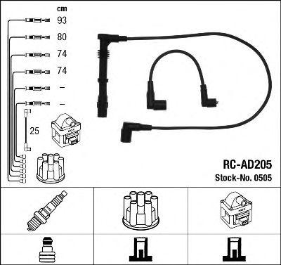 Высоковольтные провода 0505