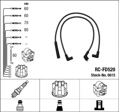 Высоковольтные провода 0615