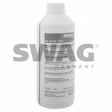 Антифриз SWAG 1.5L (сине-зелёный G11) 99901089