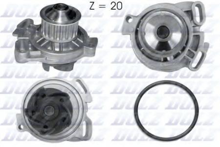 Помпа Audi 100, VW LT, Volvo 740 / 960 2.0D / TD / 2.4D / TD 78-96 A-154